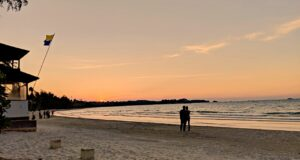 Lagoi bay sunrise