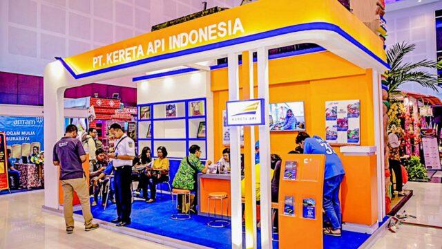 KAI booth in Majapahit International Travel Fair