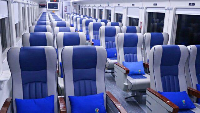 Indonesian Train Business class
