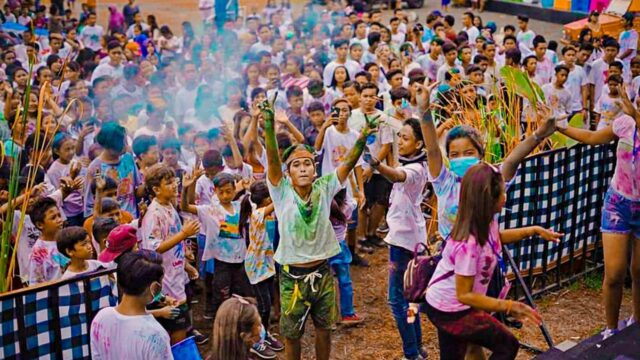 color run pemuteran bay festival