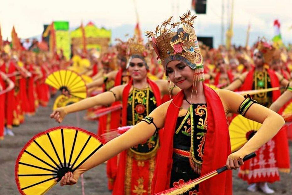 Gandrung Sewu Festival Festiveness