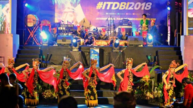 dance performance tour de banyuwangi ijen