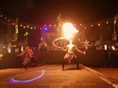 Fire Art Pesona Nusa Dua Fiesta
