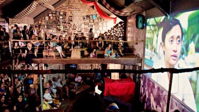 Movies on screen Ubud Writers Festival