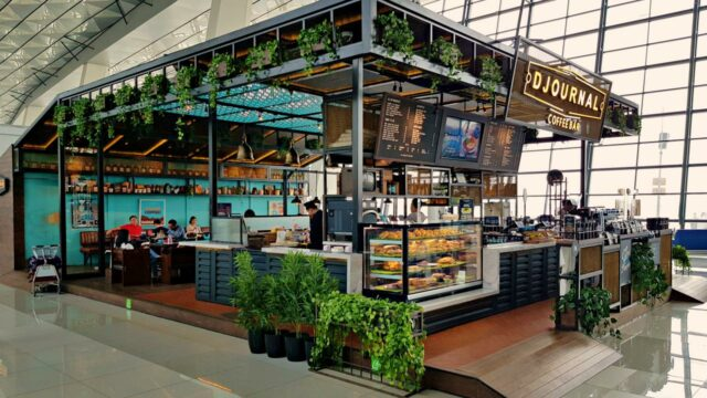 Cafe Soekarno Hatta International Airport