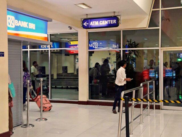 atm corner yogyakarta airport