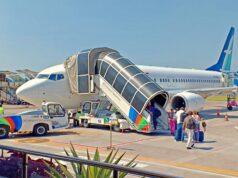 silk airlines at yogyakarta airport