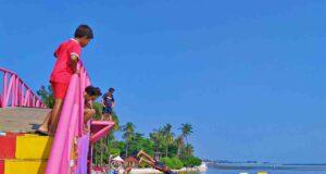 Tidung Island iconic landmark