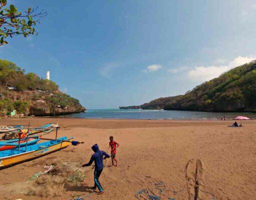 baron beach and the lighthouse