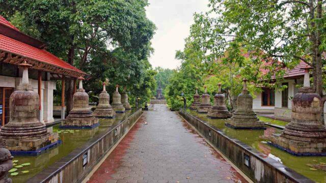 buddhist monastery area