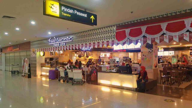 Food Corner Terminal 2 Juanda Airport