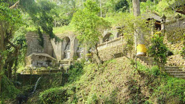 gunung kawi temple area