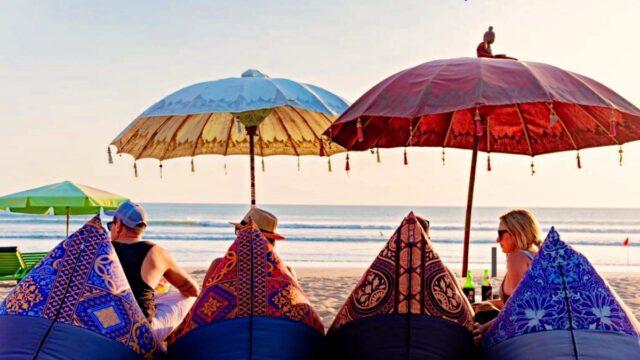 Legian beach ambiance