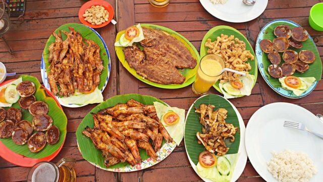 seafood delicacy jimbaran
