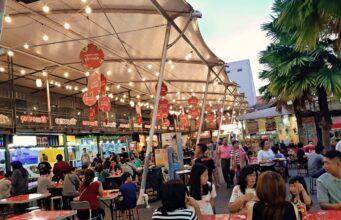 sudirman street food vibe