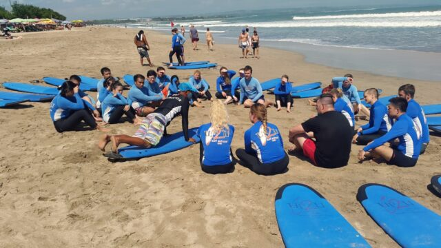 surfing course