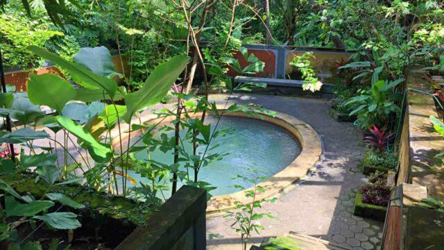 private pool banjar hot springs