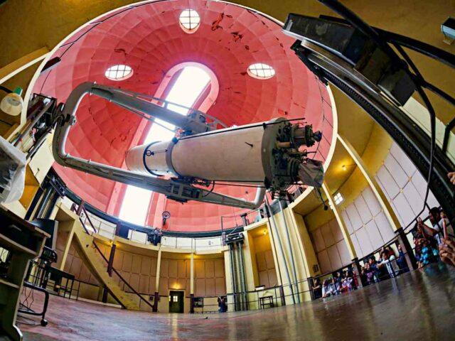 Bosscha Zeiss telescope