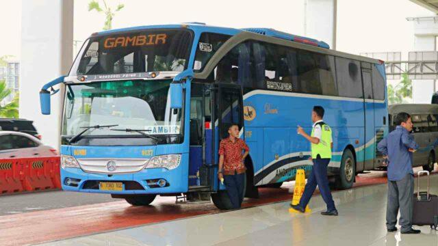 Jakarta airport to bandung damri bus