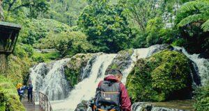 waterfall photo spot