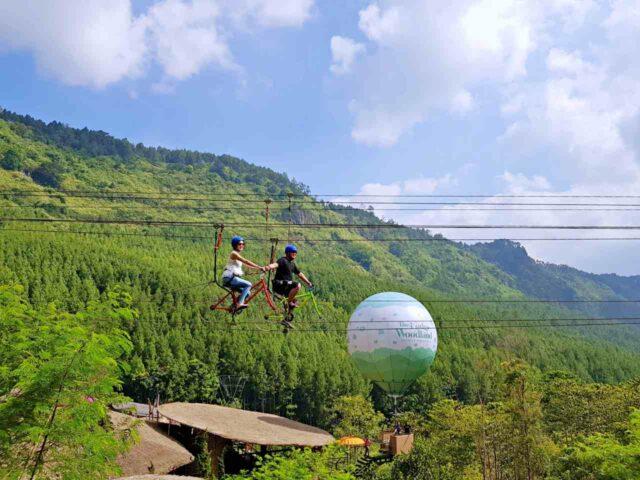 zip bike lodge maribaya