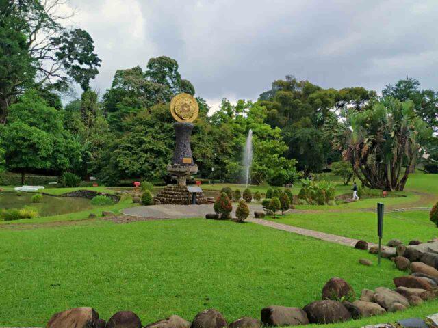 bogor botanical gardens open space