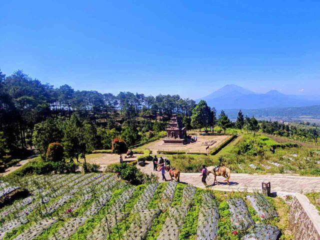 gedong songo mountain view