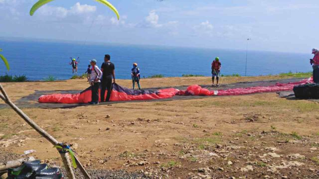 paragliding spot