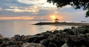 sanur sunrise beach