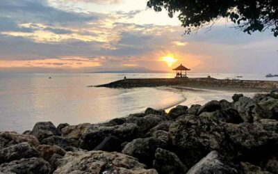 sanur sunrise beach