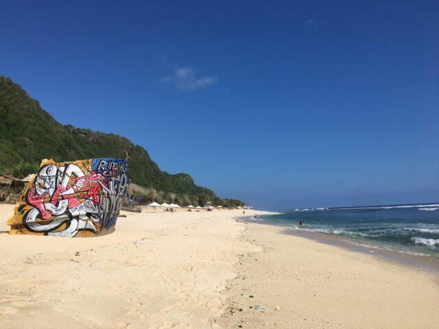 beach umbrella rent nyang nyang beach