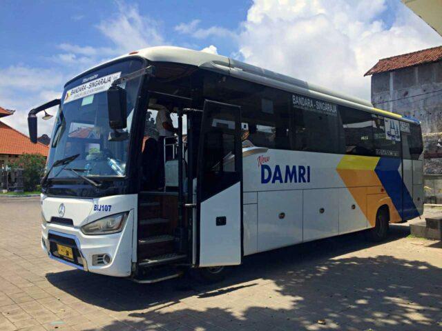 damri bus airport transfer to ubud