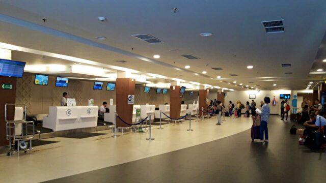 baggage drop bandung airport
