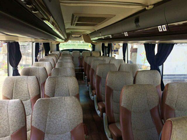 damri bus seat to ubud