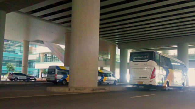 Damri bus Yogyakarta International Airport