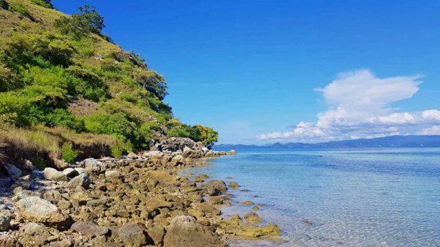 kanawa island offers calm wave
