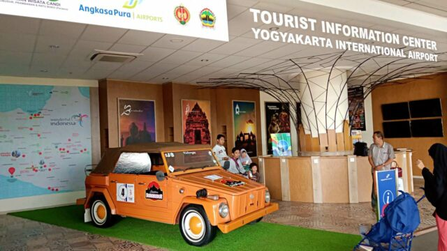 Yogyakarta International Airport, Tourist information center