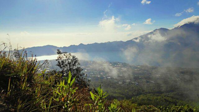 lake batur from top