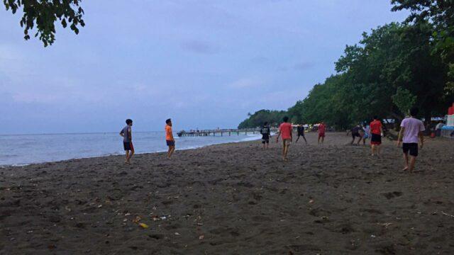 football lovina beach