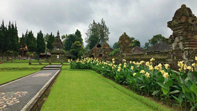 flower garden ulun danu
